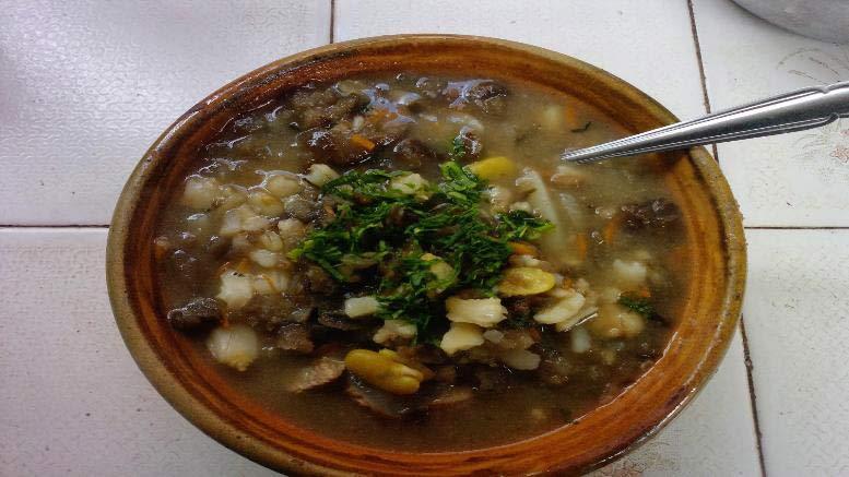 Sopa de chairo