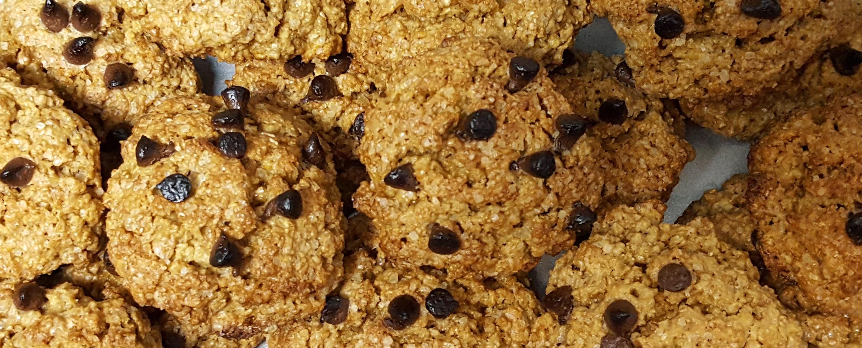 galletas con pepitas de chocolate