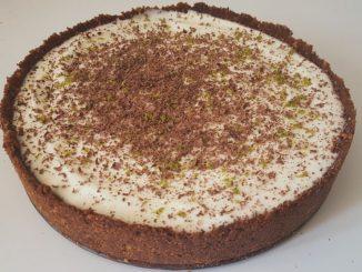 Tarta de chocolate y lima