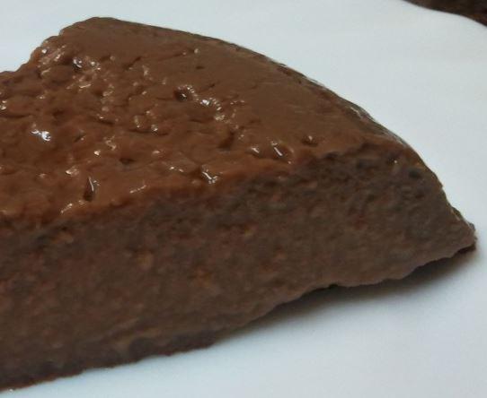 Flan de chocolate casero