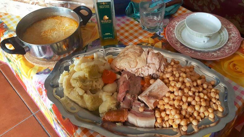 Cómo preparar cocido madrileño