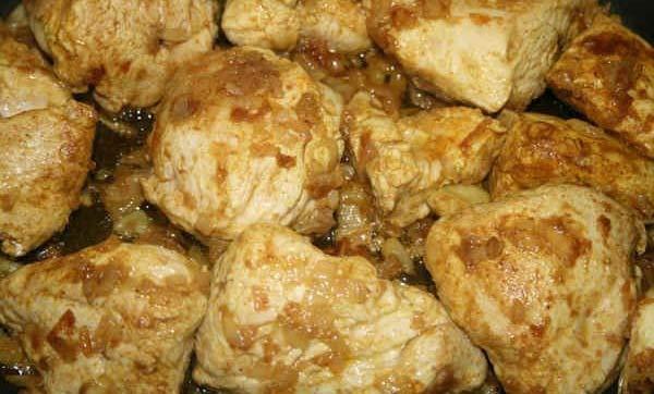 Estofado de cordero al curry