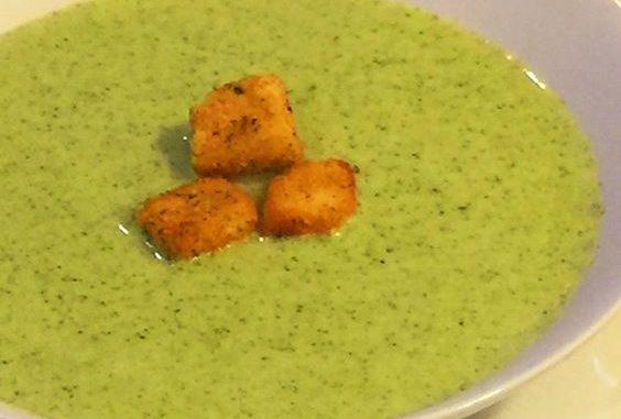 crema de brócoli