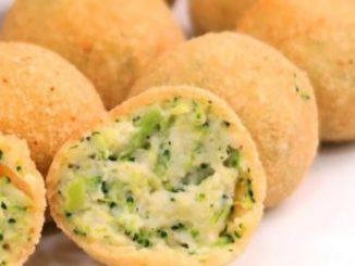 Croquetas de brócoli con queso