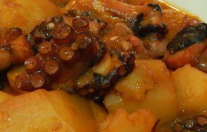 ulpo estofado con patatas