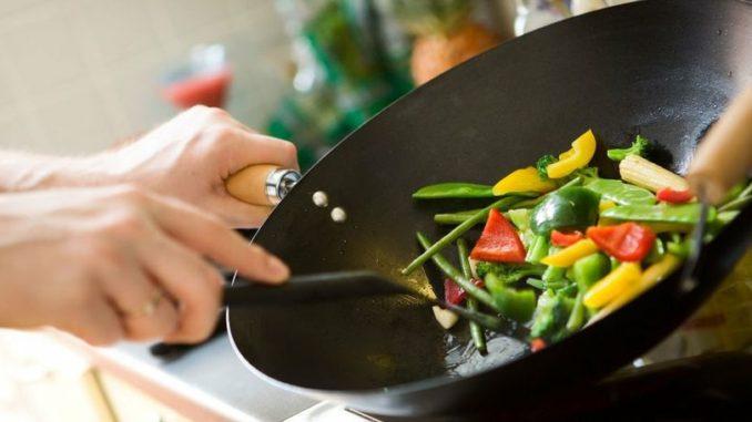 Cocina con Wok