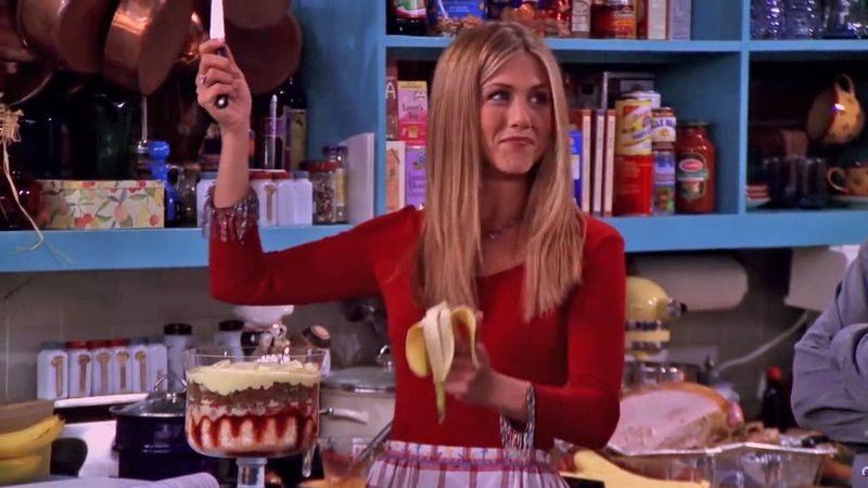 La tarta de Rachel de Friends